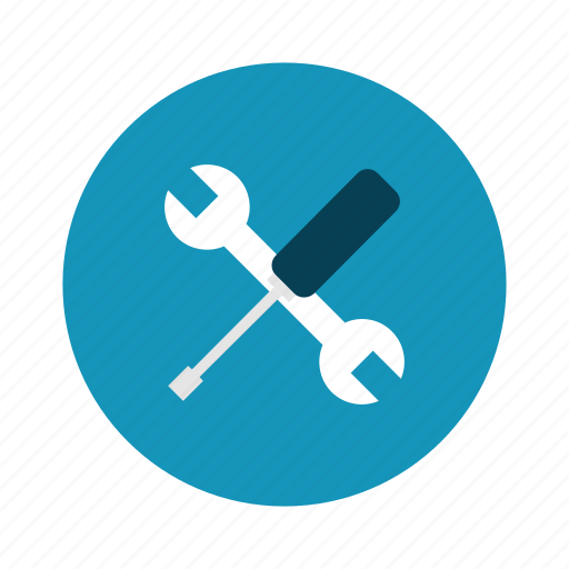 screwdriver, settings, technology, work, wrench icon