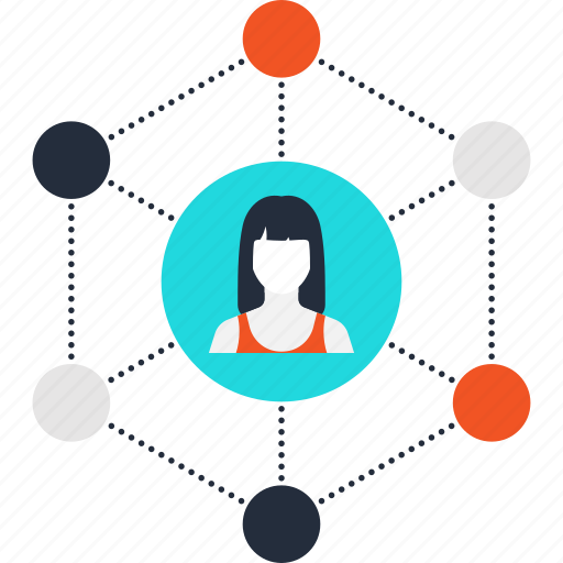 communication, connection, internet, link, media, network, social icon