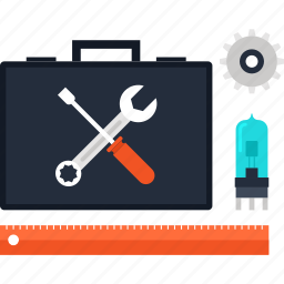 configuration, options, repair, service, settings, technical, tool icon