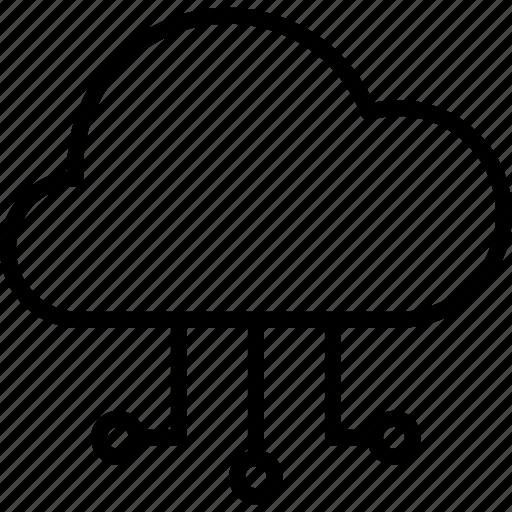 Cloud, server, storage, database, data icon - Download on Iconfinder