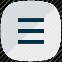 burger, menu, menu button, mobile menu, ui, ux icon