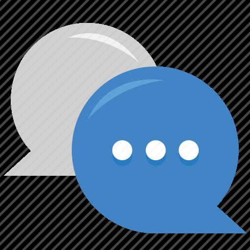 business communication, chat, communication, conversation, message, speech bubble icon