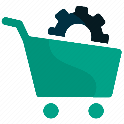 ecommerce, online, seo, settings, shopping, solution, web icon