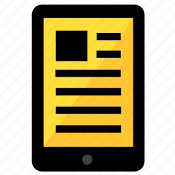 device, ebook, ipad, kindle, read icon