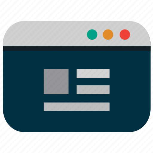 grid, layout, structure, template, web icon