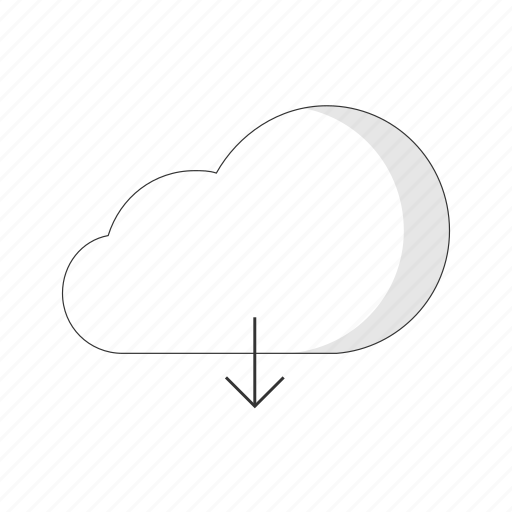 cloud, computing, connection, data, internet, seo icon