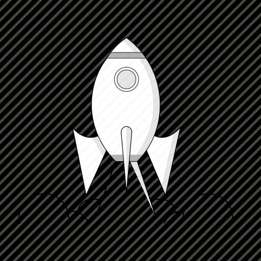 business, missile, pocket, power, rocket, startup icon