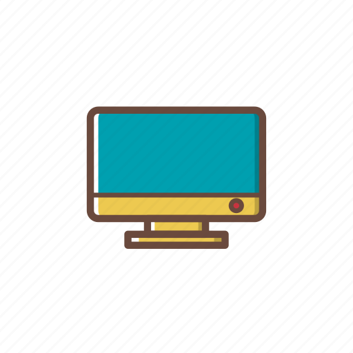 computer, monitor, pc, screen, technology icon