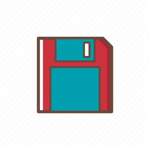 computer, data, data storage, floppy disk, hardware, pc, technology icon
