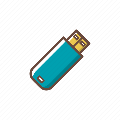 computer, data, data storage, flash disk, hardware, pc, technology icon