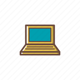 computer, data, hardware, laptop, pc, screen, technology icon
