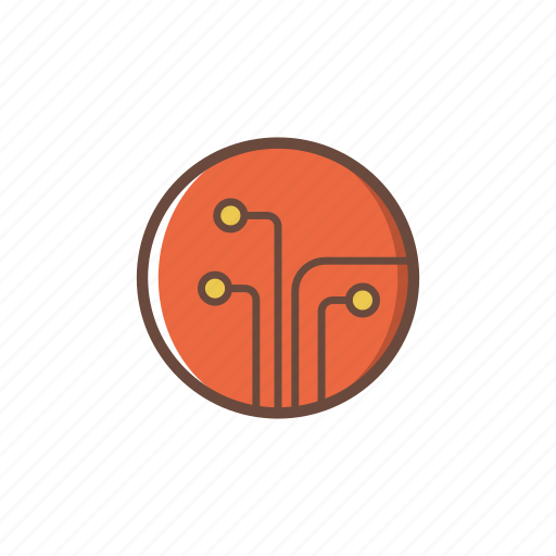 circuit, computer, data, electronics, pc, technology icon