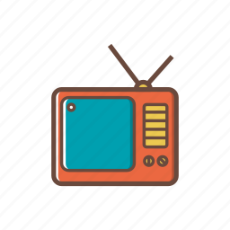 electronics, screen, technology, television, tv icon