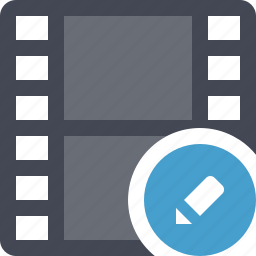 cinema, edit movie, film, filmroll, filmstrip, movie, video icon