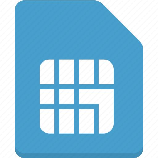 microship, mobile, phone, sim, sim card icon