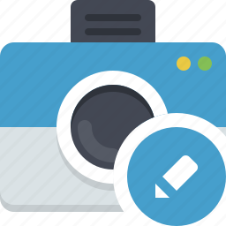camera, edit photo, gallery, photocamera, snapshot icon