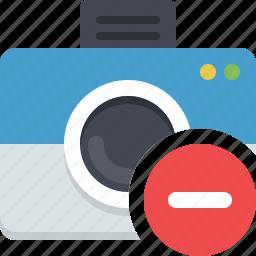 camera, photo, photocamera, picture, remove photo icon