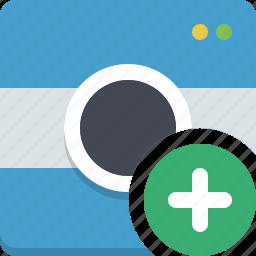 add photo, camera, gallery, image, photocamera, picture, snapshot icon