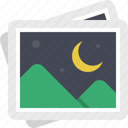 gallery, image, night, photo, photography, photos, pictures icon