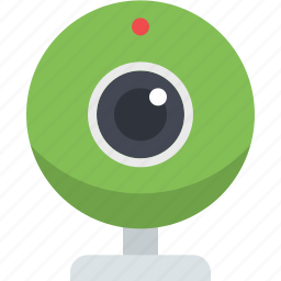 camera, video, video chat, video conversation, video talk, web camera icon