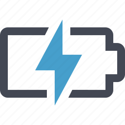 battery, charged, charging, electric, electricity, energy, power icon