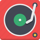 gramophone, melody, retro, vinyl icon