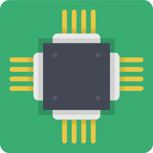 chip, chipset, computer chip, cpu, microchip, processor, technology icon