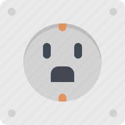 electric, electrical, electricity, power, power supply, socket icon