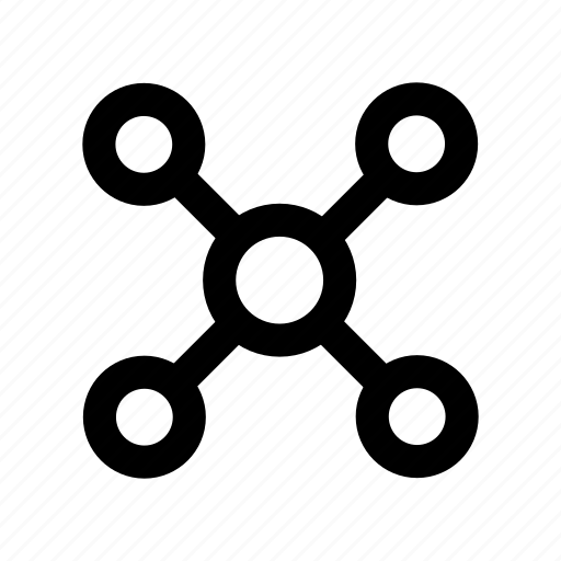 connected, group, network, organization, team icon