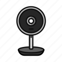 camera, digital, facetime, live, streaming, web, webcam icon
