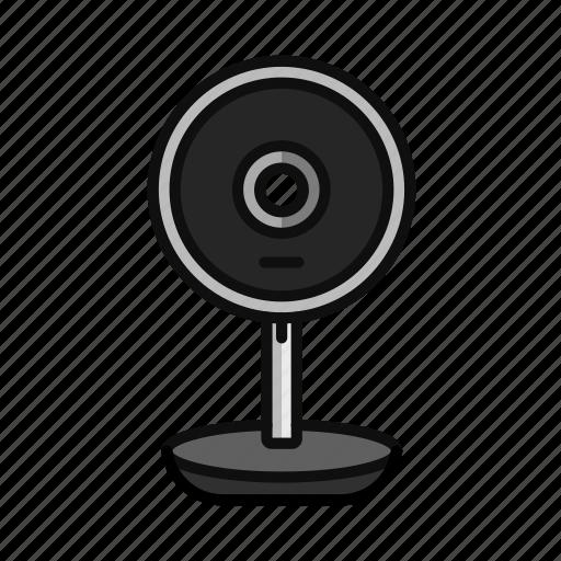 camera, digital, facetime, live, streaming, web, webcam icon