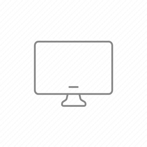computer, desktop, display, electronic, mac, monitor, pc icon