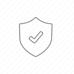 antivirus, check, guard, mark, protection, security, shield icon