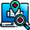 find, hospital, maps, location, medical, places