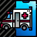 ambulance, emergency, medical, transport, vehicle, healthcare