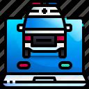 ambulance, medical, transport, vehicle, healthcare, emergency