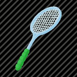 ball, cartoon, hit, player, racket, strike, tennis icon