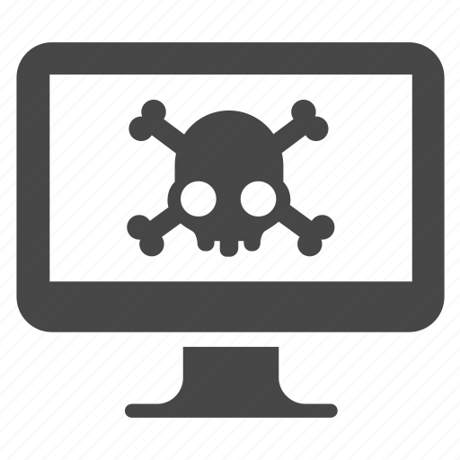 caution, computer, danger, hacker, hacking, virus, warning icon