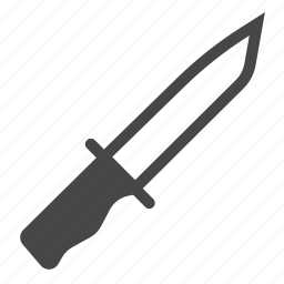 blade, cut, cutthroat, knife, serial killer, sharp, weapon icon