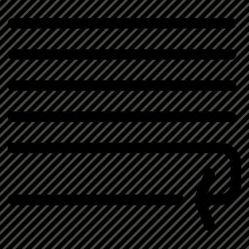 adjust, creative, document, file, grid, line, message, paper, paragraph, shape, text, wrap icon
