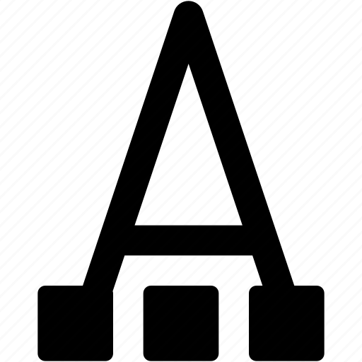 art, color, creative, font, grid, letter, paint, painting, palette, shape, text, tool, type icon