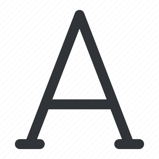 font, format, text, typography icon