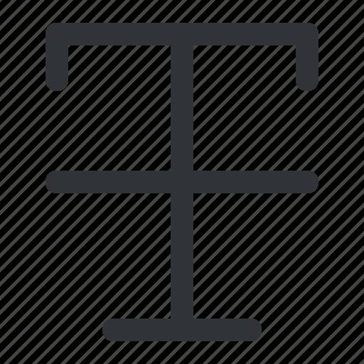 format, strikethrough, text, typography icon