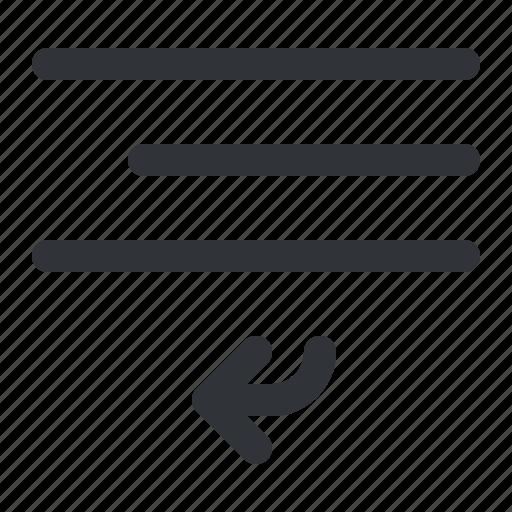 align, bottom, format, left, text, under icon