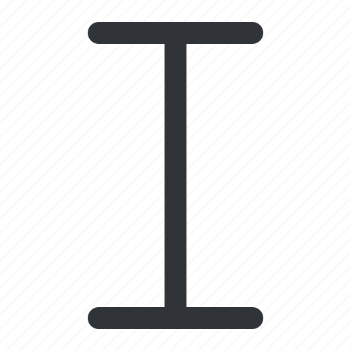 italic, style, text, typography icon