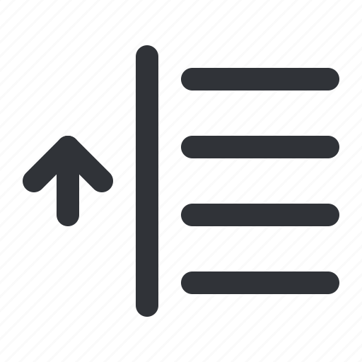 align, format, left, text, up icon