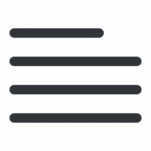align, format, indent, left, text icon