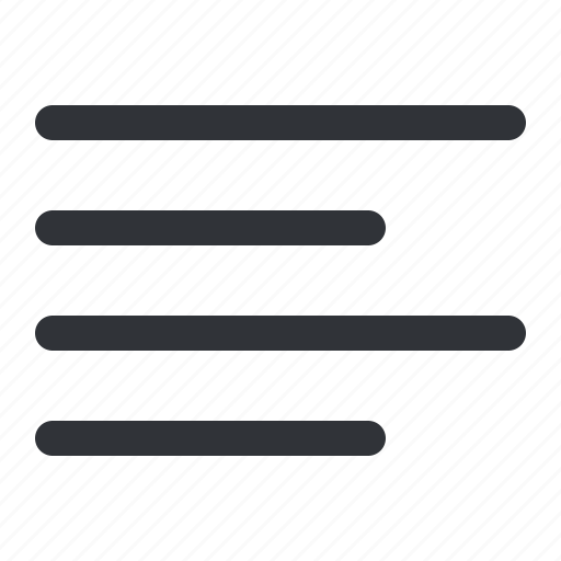 align, format, left, text icon