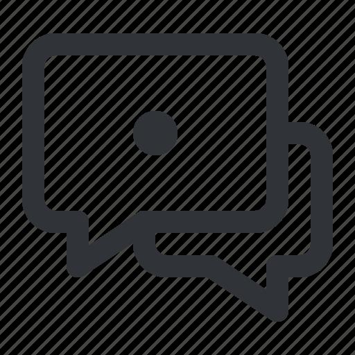 chat, communication, conversation, dot, message icon