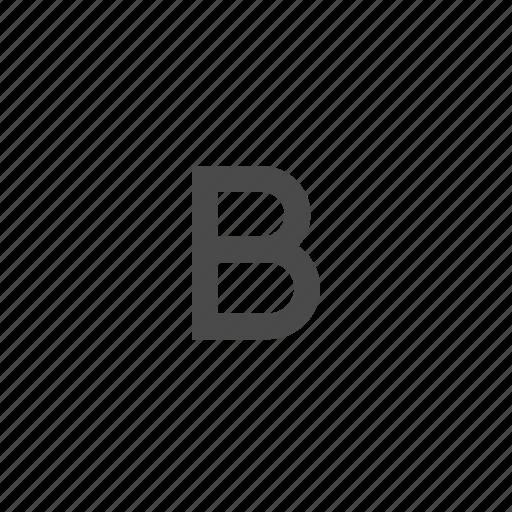 bold, capital, letter, text, wysiwyg icon